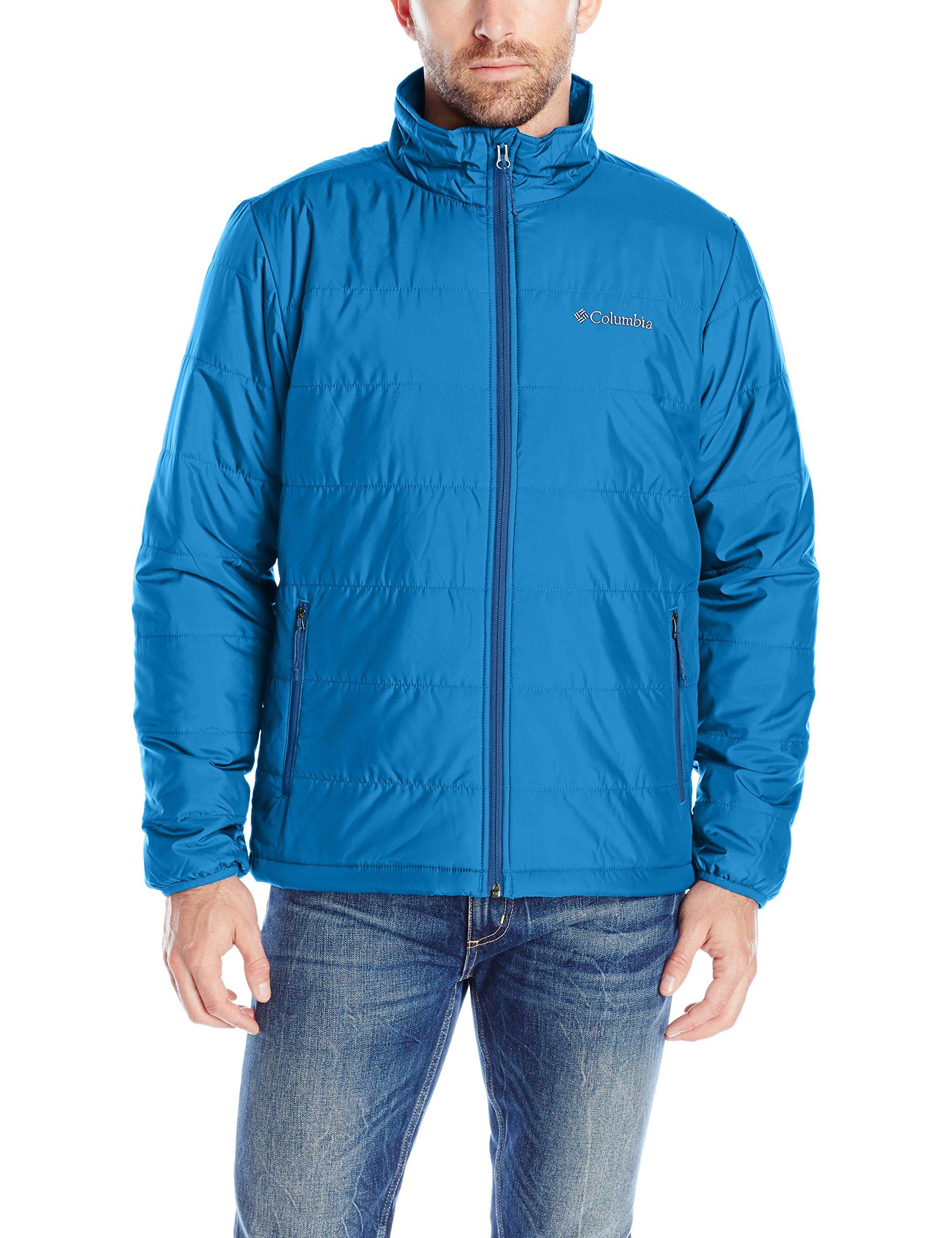Columbia Men's Saddle Chutes Jacket, Marine Blue, XX-Large
