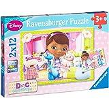 Ravensburger 07572 - Disney Doc McStuffins, 2 x 12 Teile Puzzle