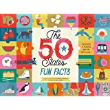 The 50 States Fun Facts: Includes a Puzzle Map of the U.S.A.!