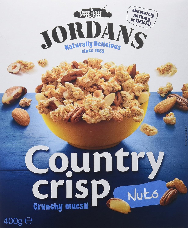 Jordans Cereales Frutos Secos - 400 gr - , Pack de 6: Amazon.es: Alimentación y bebidas