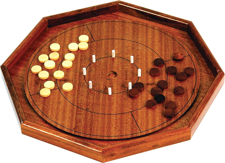 Crokinole Luxury Grand Juego de mesa, 70 cm: Amazon.es: Juguetes y juegos
