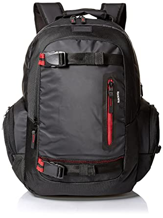 Quiksilver Raker Backpack, mochilas para Hombre, negro Talla única