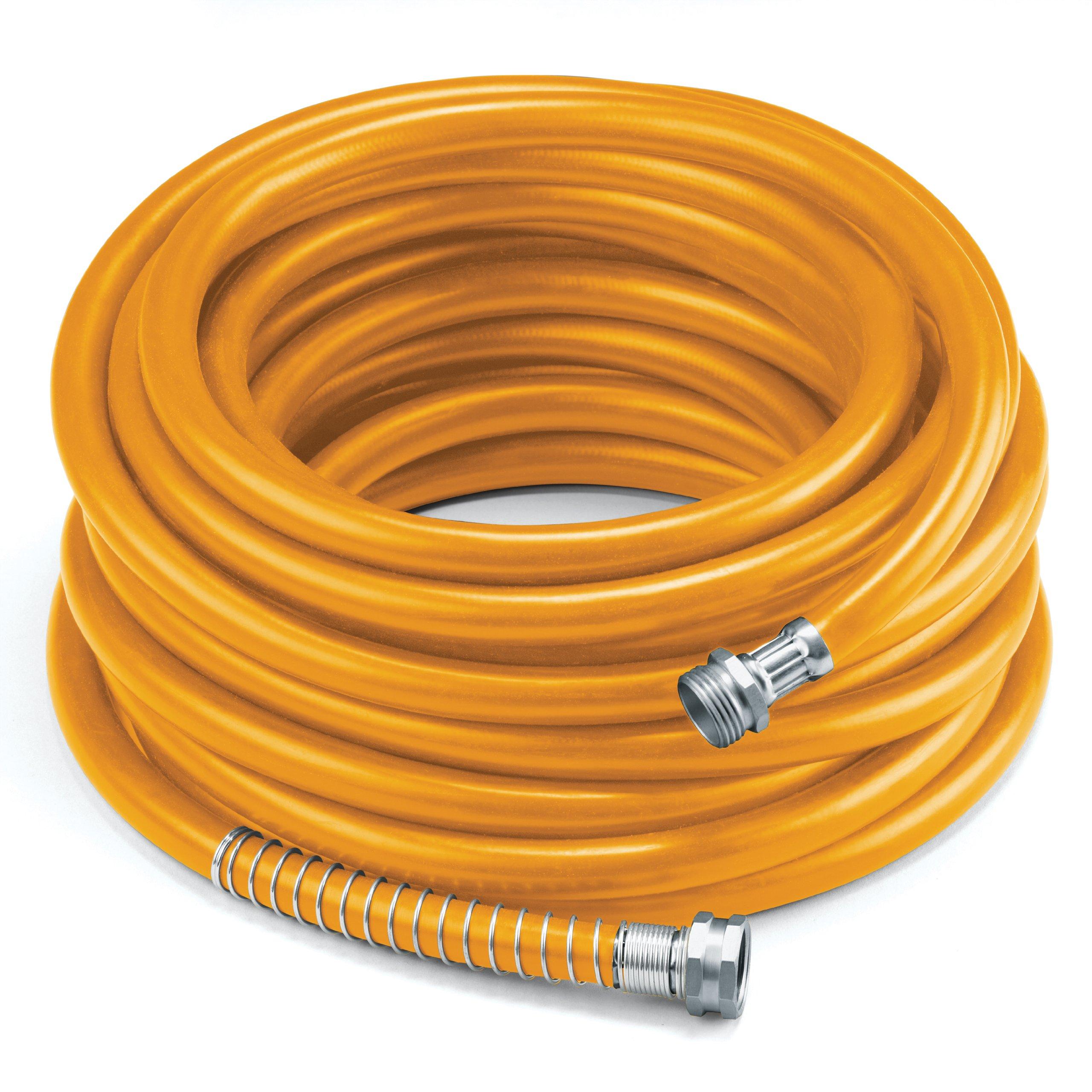 COLOURWAVE Premium Rubber Hose, 5/8-Inch by 100-Feet, Orange