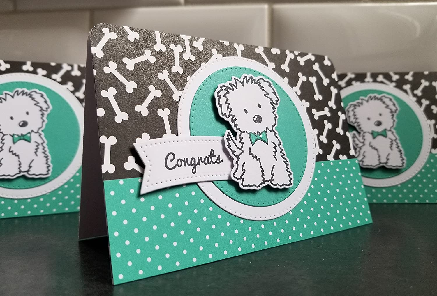 Dog Lover Gift Congratulations on Your New Dog Greeting Card