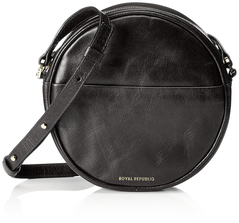 Black Royal RepubliQ Women's Round Evening Bag Shoulder Bag