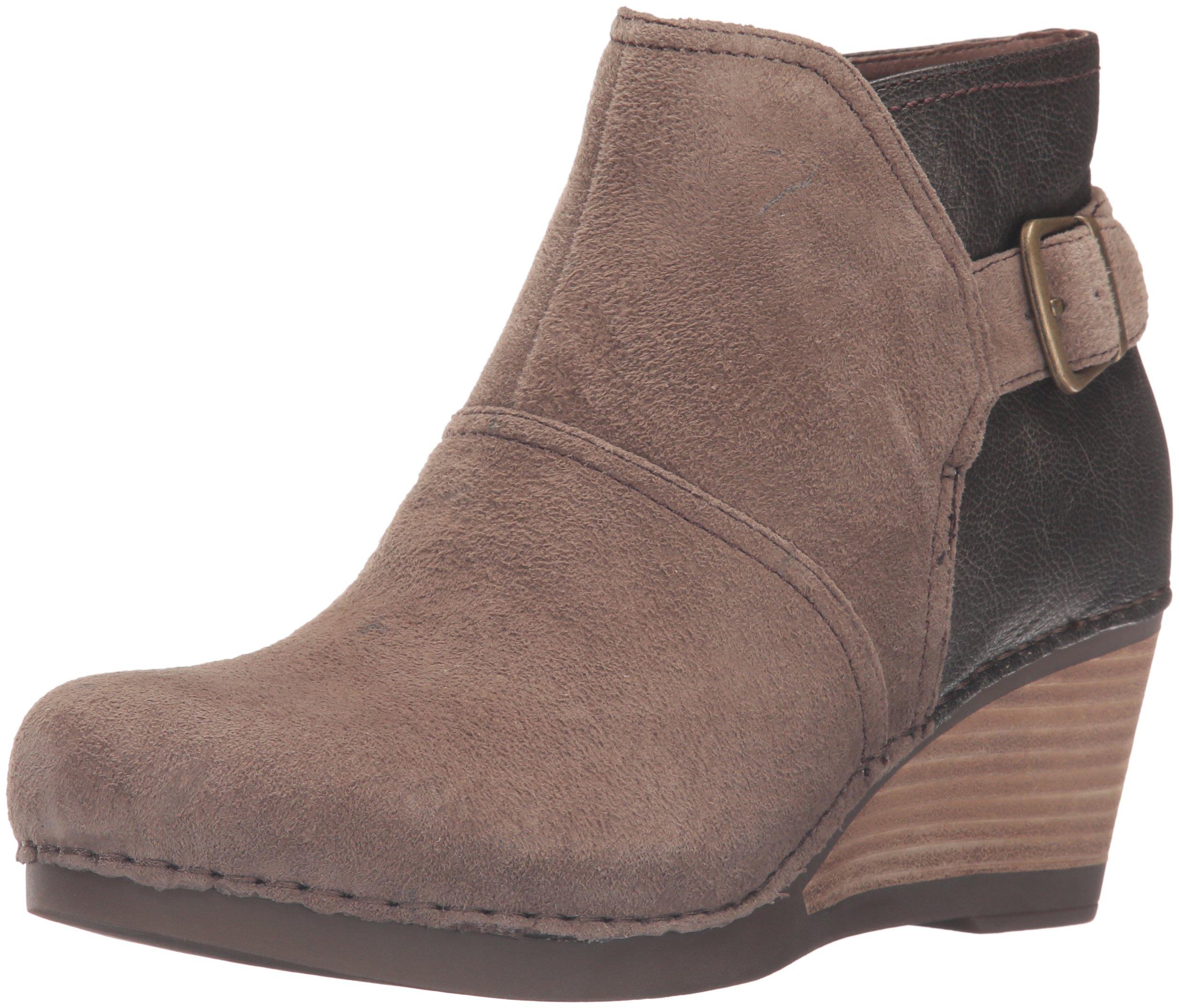 Dansko Women's Shirley Boot, Taupe Suede, 38 EU/7.5-8 M US