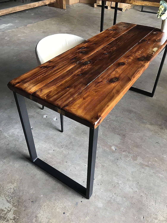 Reclaimed Wood And Metal Furniture Rustic Rc Willey Amazoncom UmbuzÖ Solid Reclaimed Wood Metal Desk Handmade