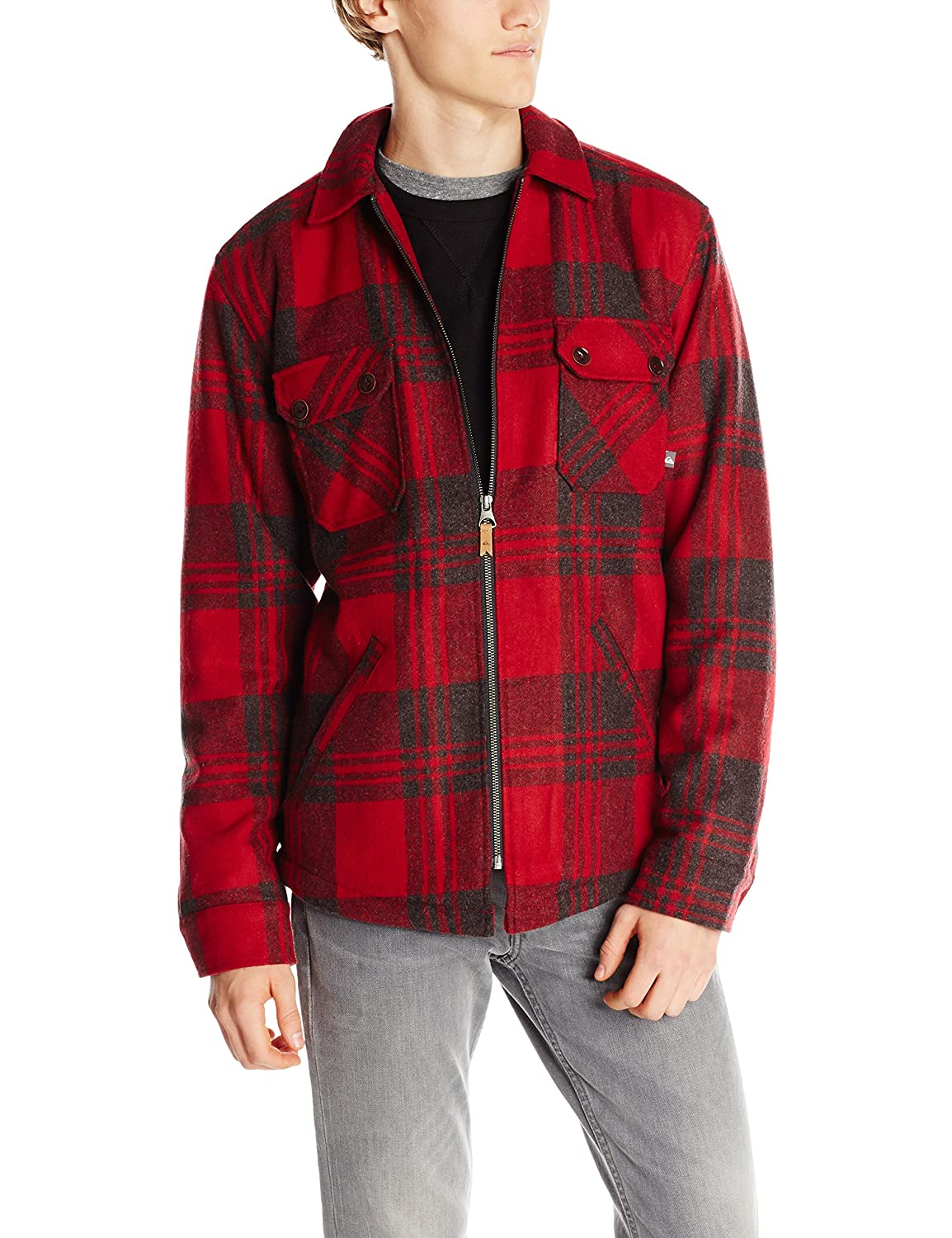 Quiksilver Otama Jacket - Quik Red