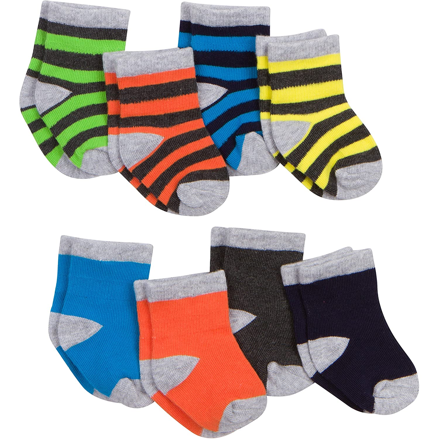Gerber Baby Boys' 8-Pair Sock Gerber Children' s Apparel