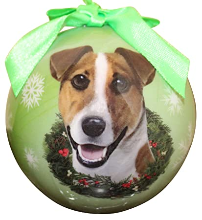 Jack Russell Christmas Ornament Shatter Proof Ball Easy To Personalize A  Perfect Gift For Jack Russell - Amazon.com: Jack Russell Christmas Ornament Shatter Proof Ball Easy