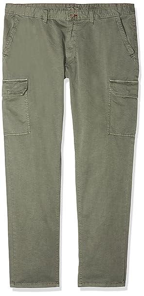 om32614-227, Pantalones para Hombre, Verde (Verde Timo 227), 48 Lee Cooper