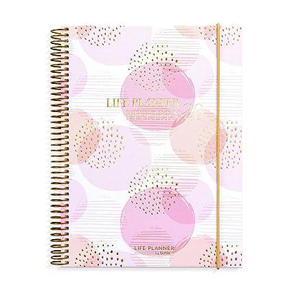 Planificador de vida rosa | A5 | organiza con estilo ...