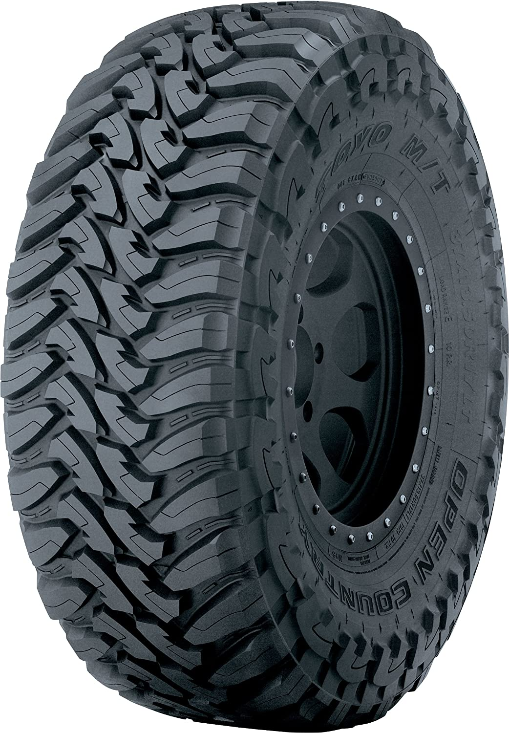 Toyo Tires Open Country M//T 12 Ply Radial Tire-35X12.50R22LT 121Q