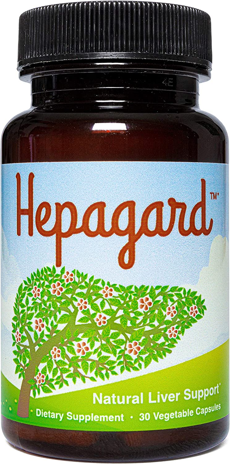 Hepagard - Natural Liver Support Supplement - Non-GMO, Gluten-Free