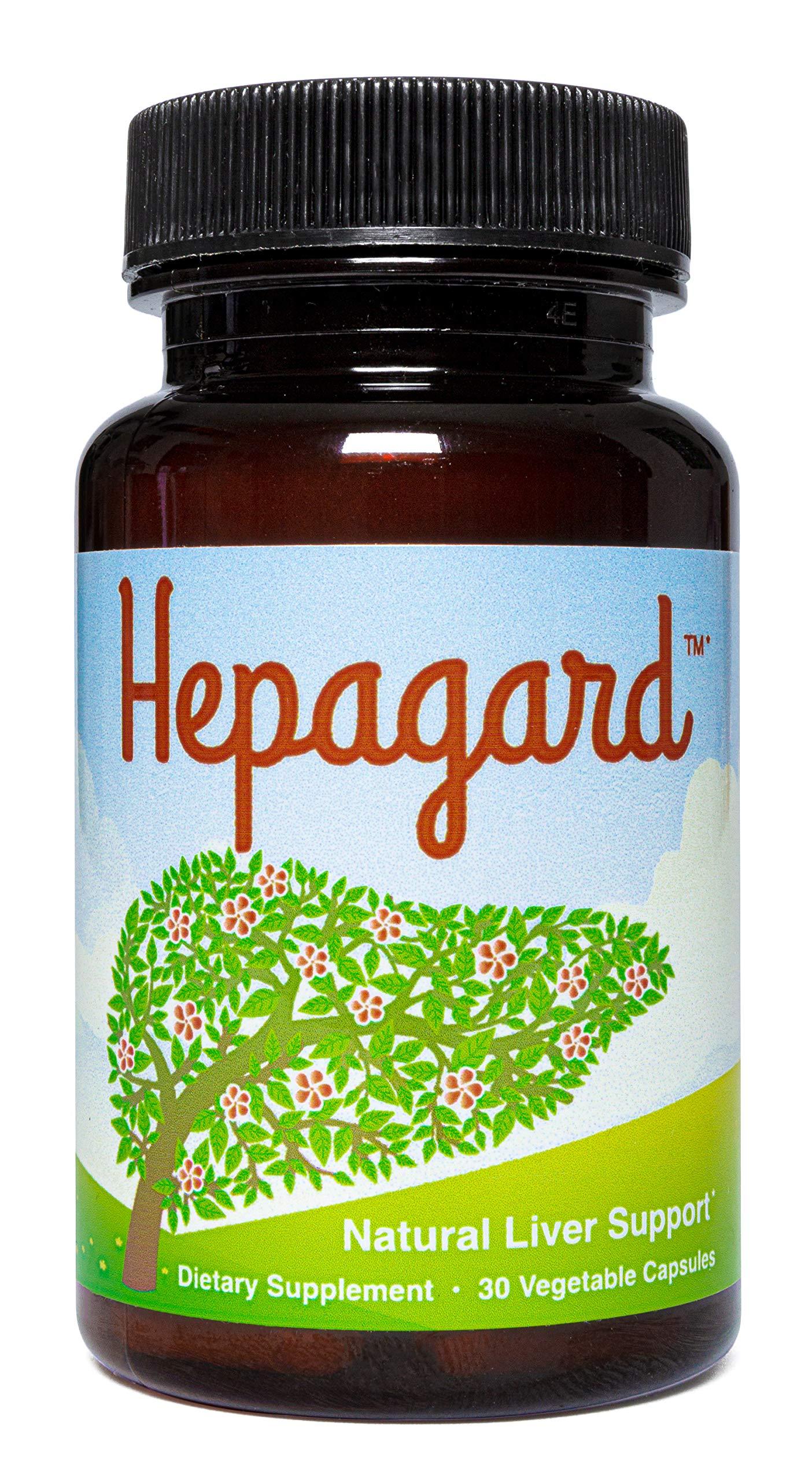 Hepagard - Natural Liver Support Supplement - Non-GMO, Gluten-Free