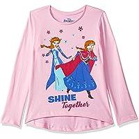 Frozen By Kidsville Girls' Plain Regular Fit Long Sleeve Top