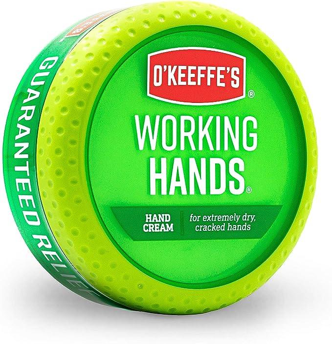 O'Keeffe's Working Hands Hand Cream, 3.4 Ounce Jar, (Pack 1)   Amazon