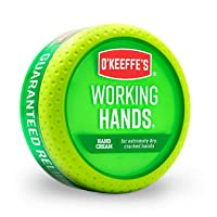 O'Keeffe's Working Hands Hand Cream, 3.4 Ounce Jar, (Pack 1)
