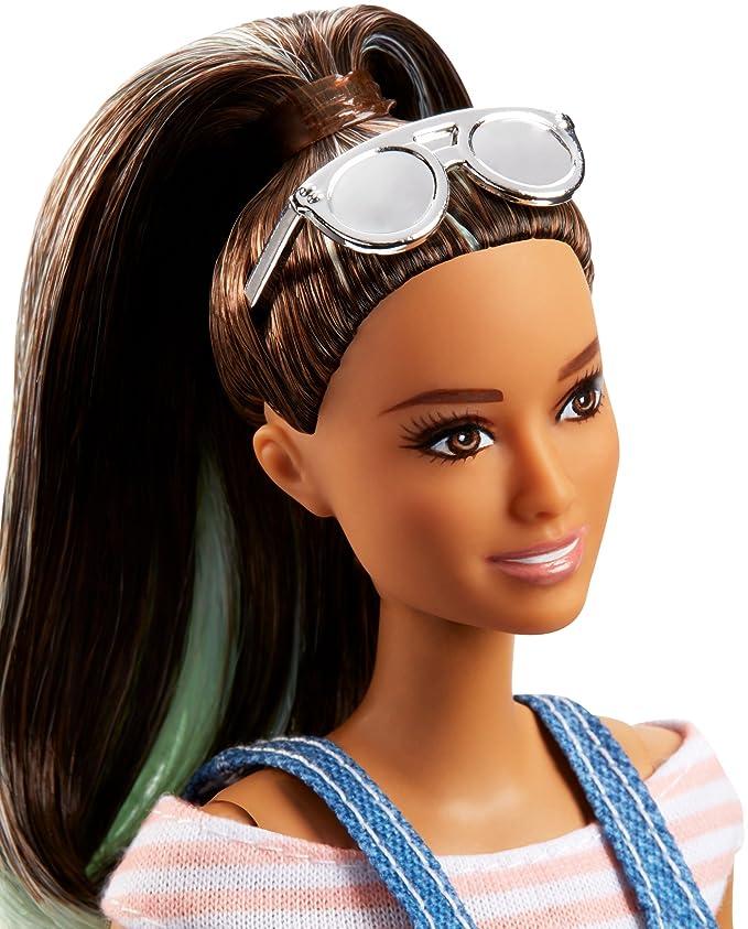 Barbie Fashionista, Muñeca Mono de Moda, Juguete +7 años (Mattel FJF37): Amazon.es: Juguetes y juegos