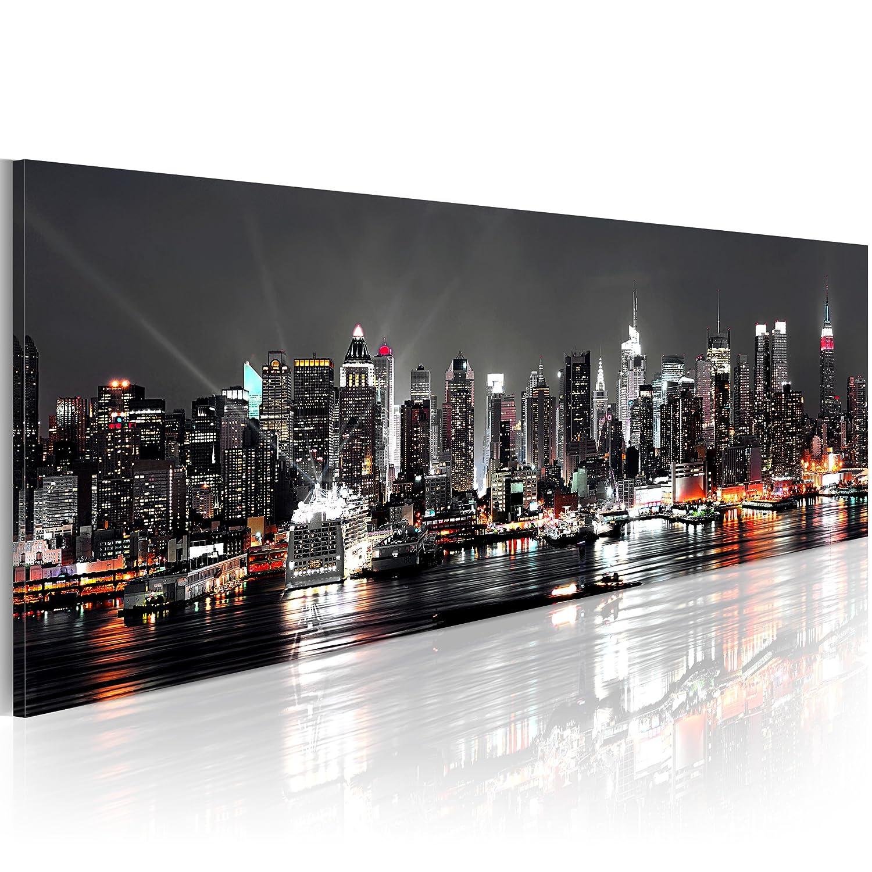 bild new york skyline excellent bild bilder auf leinwand. Black Bedroom Furniture Sets. Home Design Ideas