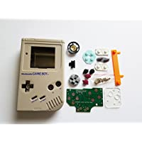 Atomic Market Grey Starter Kit Gameboy Zero DMG-01 4 Button PCB DIY W/Case Speaker & Buttons by