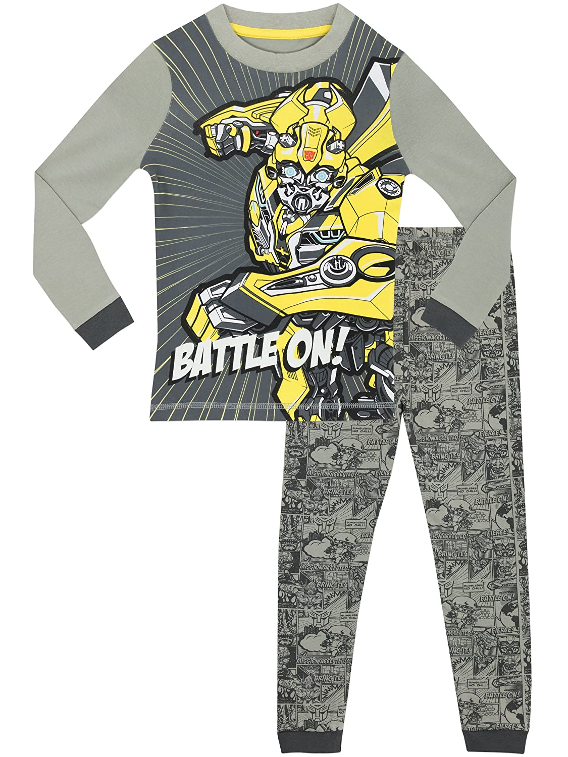 Transformers Boys Glow in The Dark Pajamas