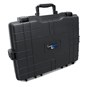 Casematix Elite Waterproof Gaming Laptop Case for Traveling with 15.6 Inch - 17.2 Inch Gamer Computers and Accessories for Alienware , Asus , Razer , Lenovo , MSI , Acer , Dell, Hp Keyboards , Mice