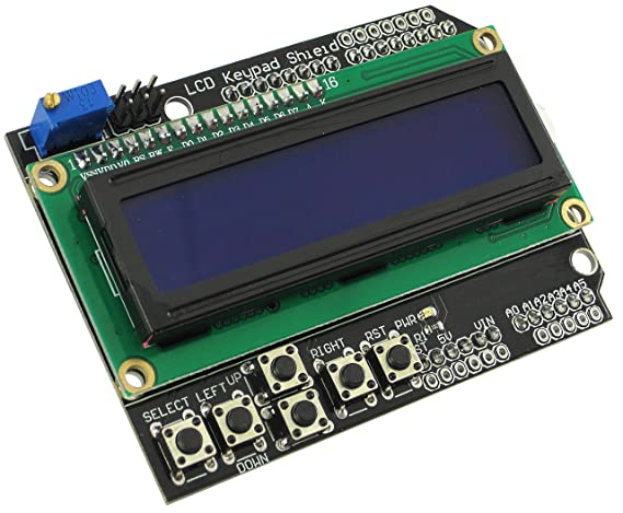 Arduino kompatibles lcd keypad shield arduino geeignet