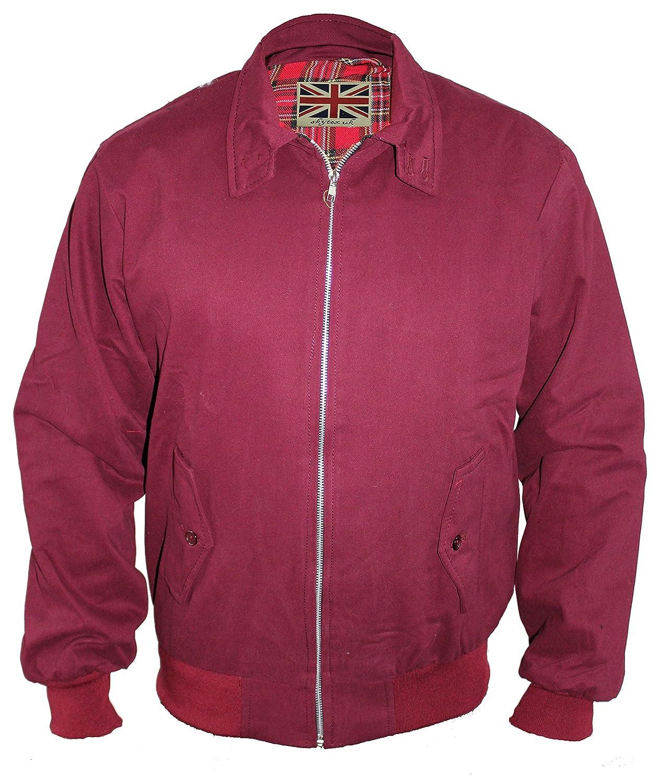 Skytexuk - giacca Harrington classica/stile retrò
