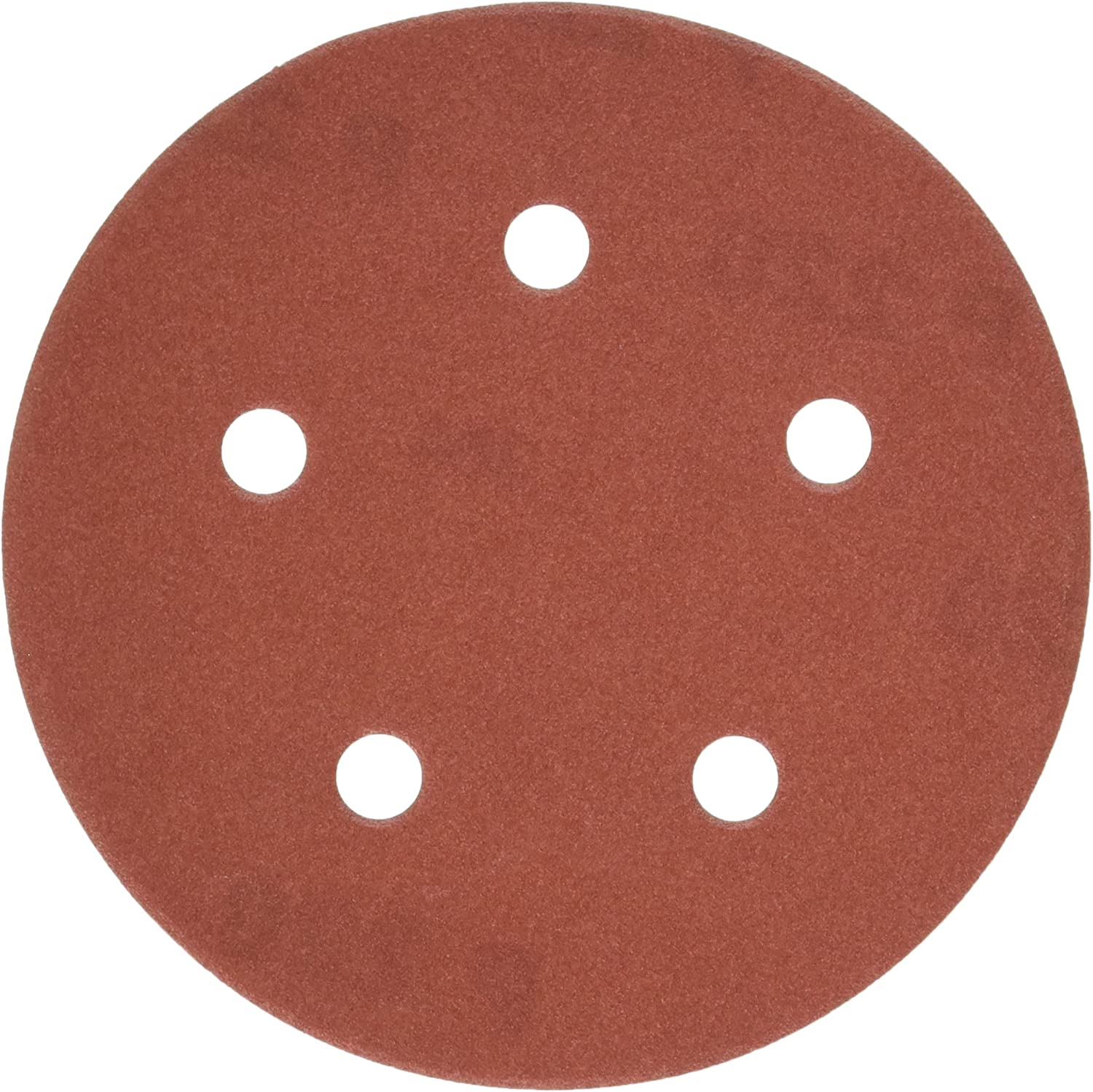 25-Pack PORTER-CABLE 735502225 5-Inch 5-Hole Hook and Loop 220 Grit Sanding Discs