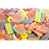 Ultimate FIZZY Pick n Mix Jelly Sweet Bag Selection 1kg - Quality Branded Sweets