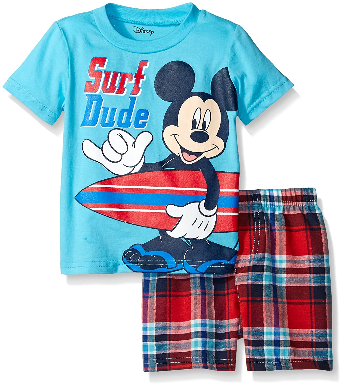 Disney Mickey Mouse Plaid Short Image 3