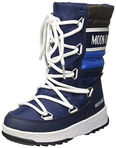 7324777790ff Moon Boot Unisex Kids  We Quilted Jr Wp Snow
