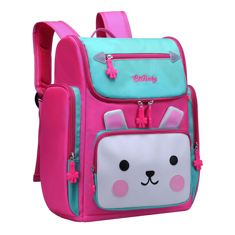 dfc990999f03 Backpack for Girls, Waterproof Bagpack Pink School Bag Cute Bookbag for  Kids 6-10 (Blue + Pink, Large)