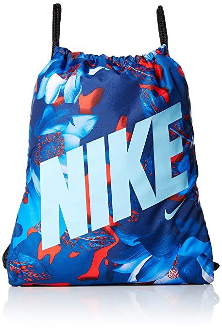 Nike Ba5262 - Bolsa de Cuerdas, Habanero Red/Black/Blue Gaze ...