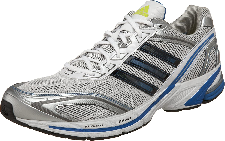 adidas Supernova Glide 2 Zapatillas de correr para hombre, Blanco (negro, blanco, azul, (Running White/Black/Signal Blue)), 51 EU: Amazon.es: Zapatos y complementos