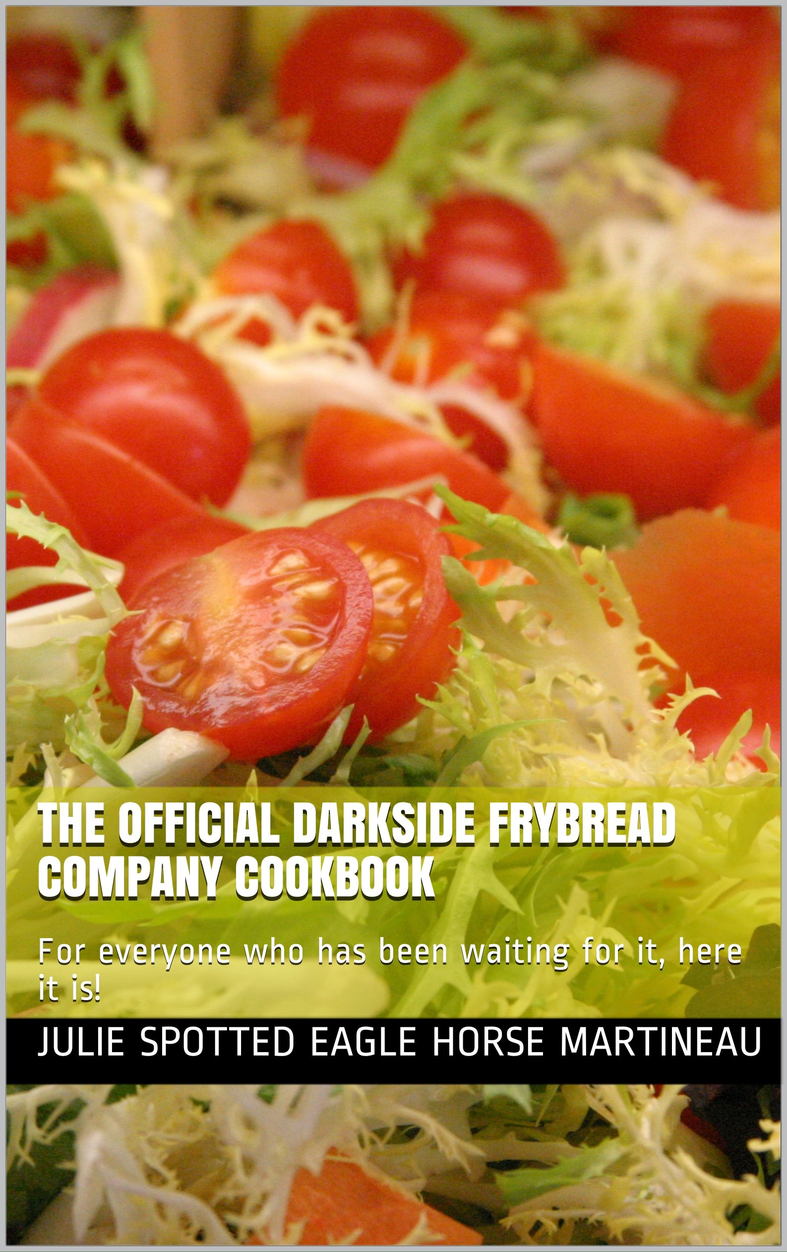 The Official Darkside Frybread Company Cookbook   For Everyone Who Has Been Waiting For It Here It Is    English Edition