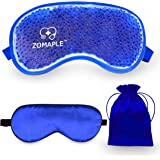 Cooling Eye Mask Cold Gel Compress Pack for Puffy Eyes, Migraine, Headache Relief, Pink Eye, Dark Circles, Dry Eye, Sinus & A