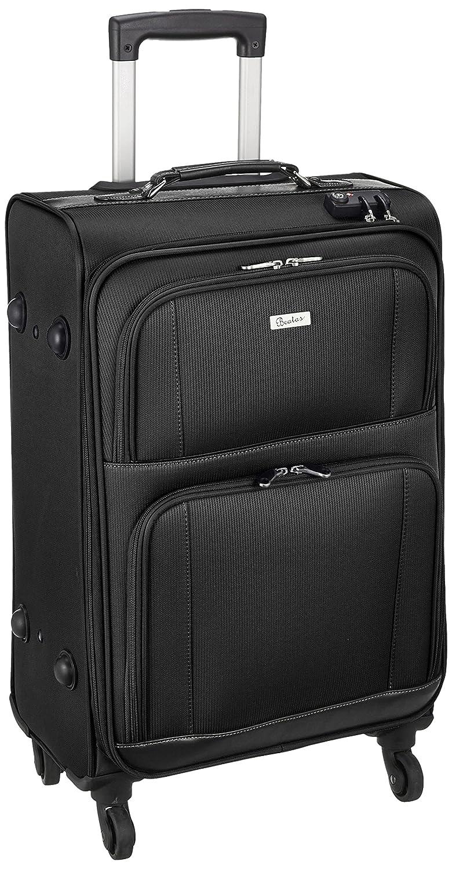[ビータス] スーツケース等保証付 50L 63cm 3.5kg BSC-30-L B07B4KSMTF ブラック ブラック