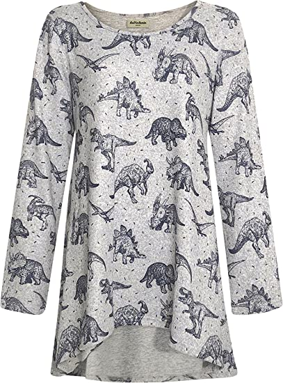 XL Botanical White Grey Dot Hem Jersey Cotton Shirt Top New White Stuff size S