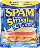 SPAM Single Classic, 2.5-Ounce Pouches (Pack of 24)