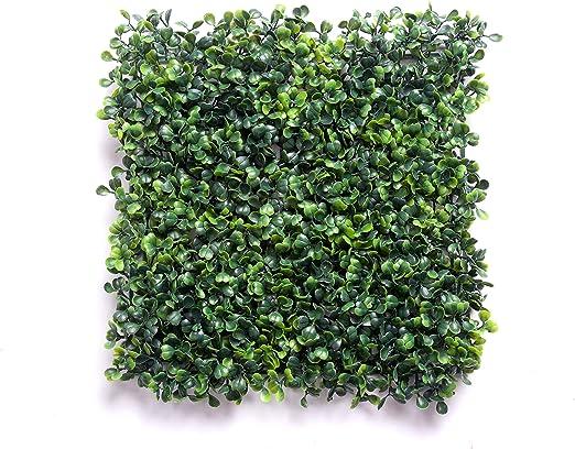 Best Artificial - Panel de boj artificial, cierre ornamental, paneles de ocultación de 144 hojas.: Amazon.es: Jardín