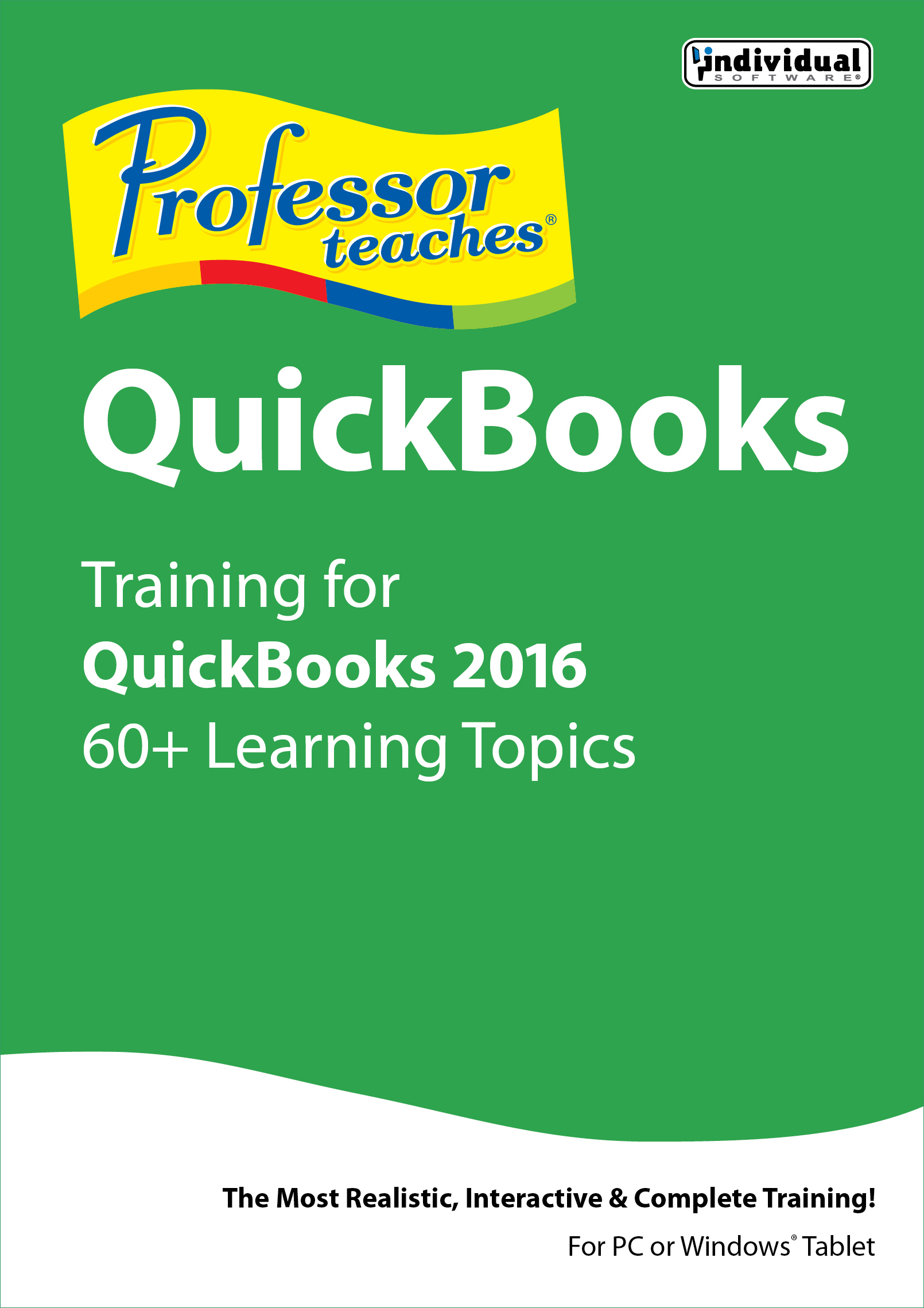 Professor Teaches QuickBooks 2016 [Download]
