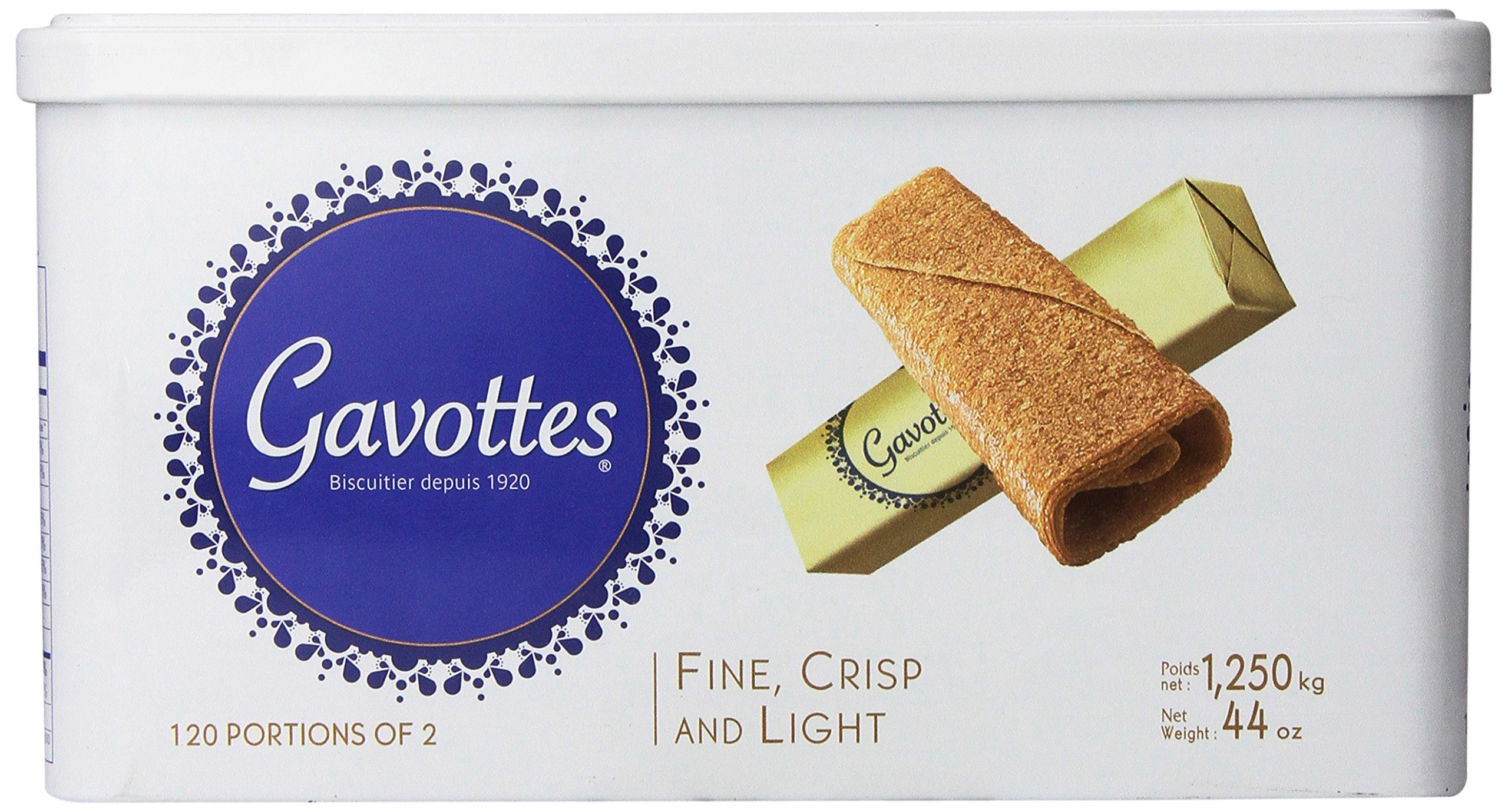 Gavottes - Crispy Lace Crepes from France, 240ct, 44oz by Loc Maria (Image #3)