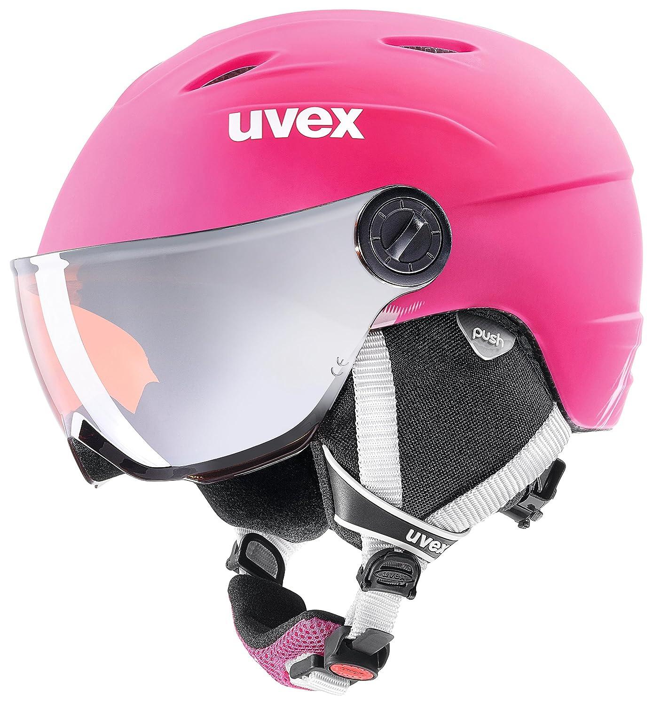 Uvex Mädchen Skihelm Junior Visor Pro