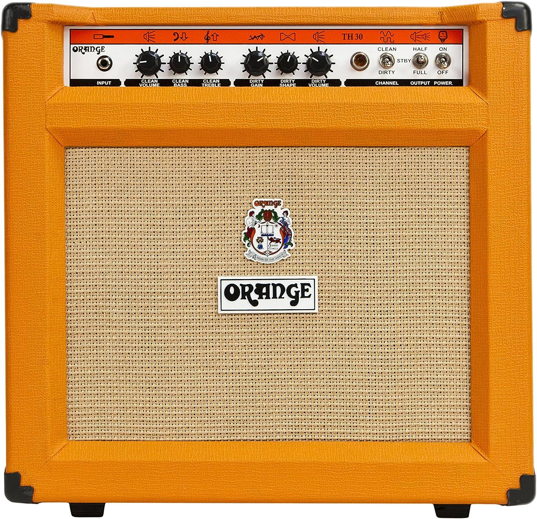 """Orange Th30C Combo Twin Channel Amplifier Head With 1X12"""" Speaker, Orange"""