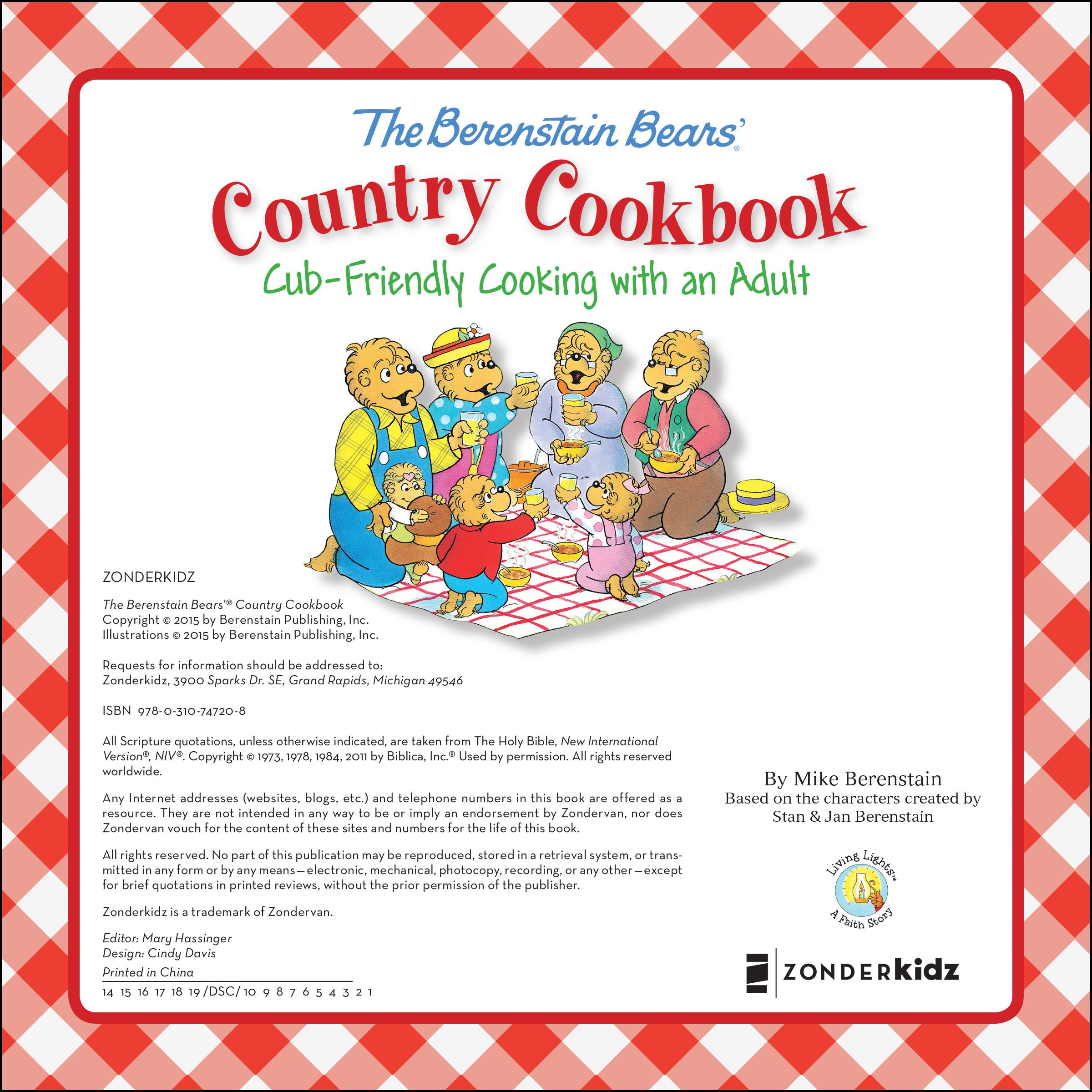 Amazon.com: The Berenstain Bears\' Country Cookbook: Cub-Friendly ...