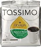 Gevalia Signature Blend Decaf Coffee, Medium Roast, T-Discs for Tassimo Brewing Systems, 16 Count