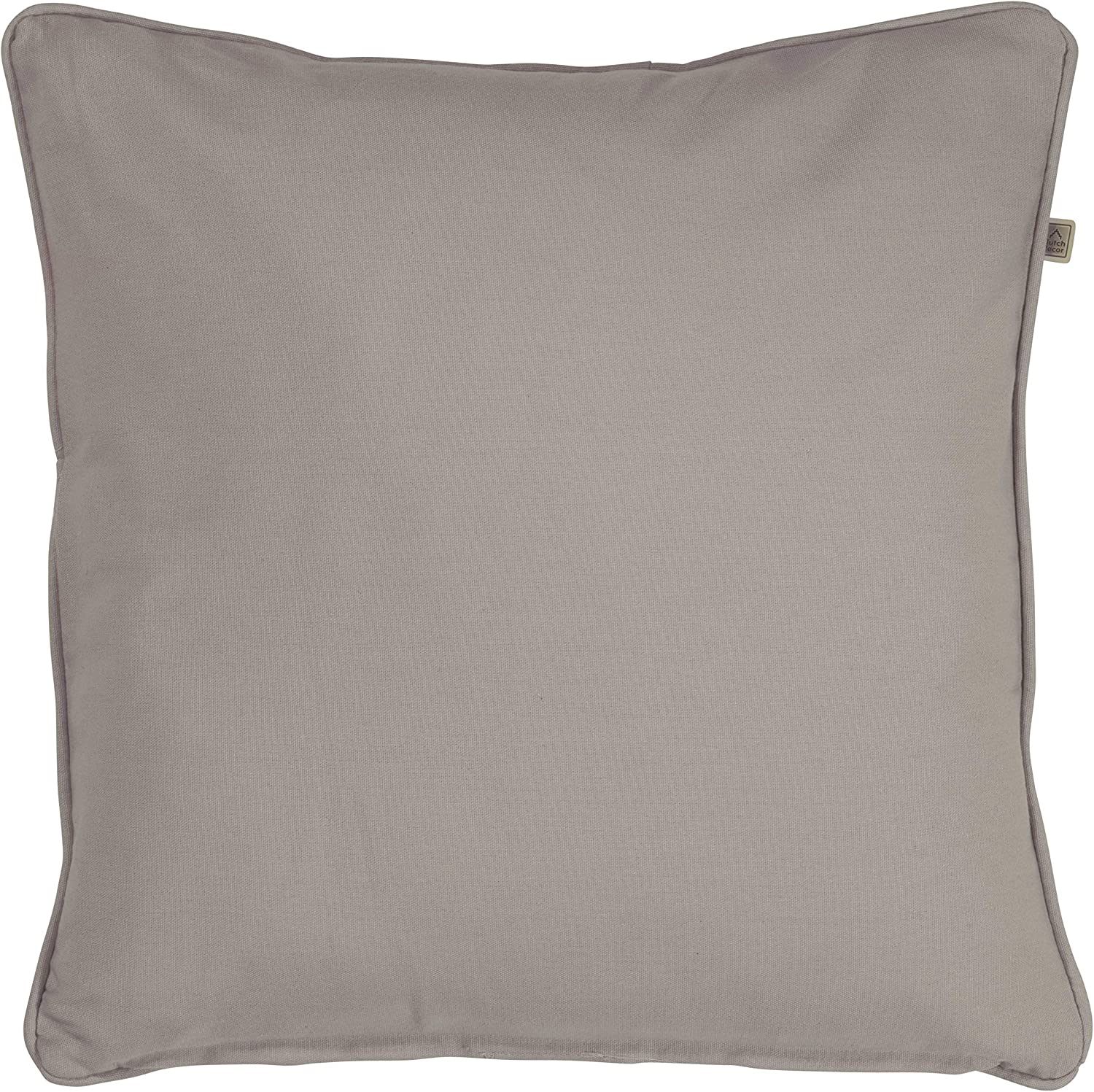 Dutch Decor Cushion cover Java 70x70 cm taupe Cushion case Pillow cover Pillowcase Throw pillow cover With zipper