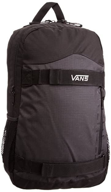 Vans Men s Authentic Skatepack Backpack Black Charcoal Vnvfba5 ... 3232e5f13